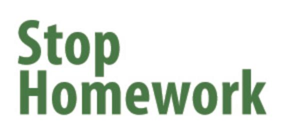 Stop Homework